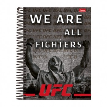 Caderno Foroni UFC We Are All Fighters 1 Matéria