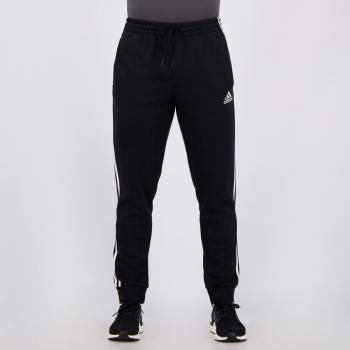 Calça Adidas Basic Essentials 3 Stripes Preta