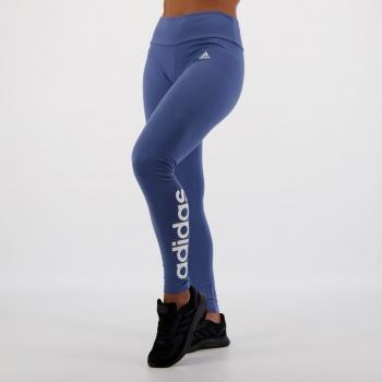 Calça Legging Adidas Essentials Linear Feminina Azul