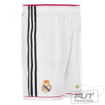 Calção Adidas Real Madrid Home 2015