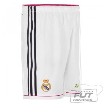 Calção Adidas Real Madrid Home 2015