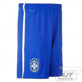 Calção Nike Brasil Home 2014