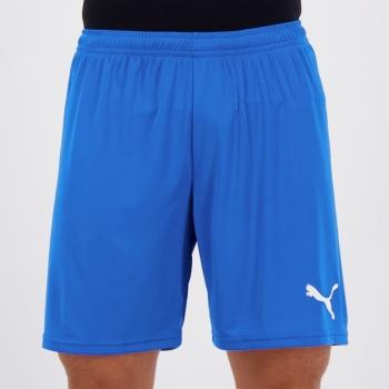 Calção Puma Liga Core Azul e Branco