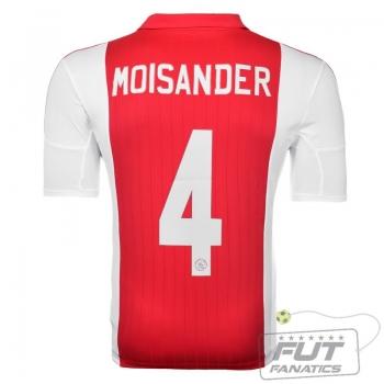 Camisa Adidas Ajax Home 2015 4 Moisander