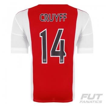 Camisa Adidas Ajax Home 2016 14 Cruyff