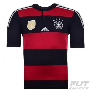 Camisa Adidas Alemanha Away 2015 Tetra