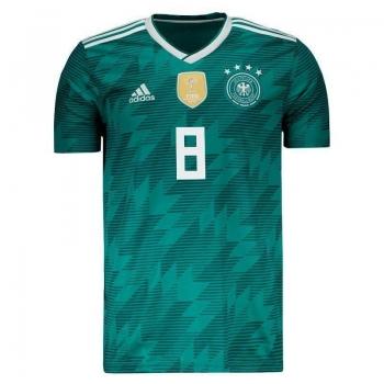 Camisa Adidas Alemanha Away 2018 8 Kroos