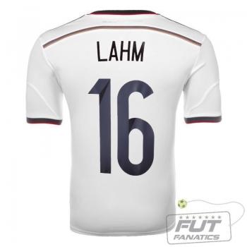Camisa Adidas Alemanha Home 2014 16 Lahm