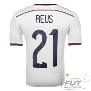 Camisa Adidas Alemanha Home 2014 21 Reus
