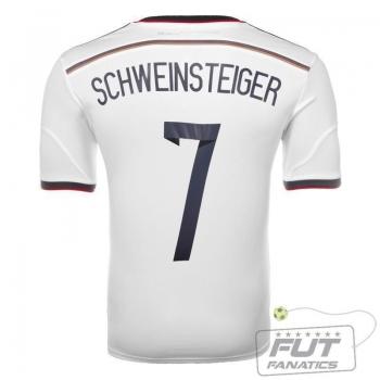 Camisa Adidas Alemanha Home 2014 7 Schweinsteiger Matchday