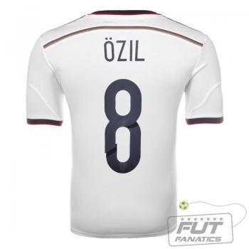 Camisa Adidas Alemanha Home 2014 8 Ozil