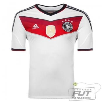Camisa Adidas Alemanha Home 2015 Tetra