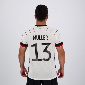Camisa Adidas Alemanha Home 2020 13 Müller