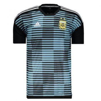 Camisa Adidas Argentina Pré Jogo 2018
