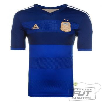 Camisa Adidas Argentina Away 2014