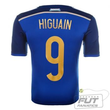 Camisa Adidas Argentina Away 2014 9 Higuain