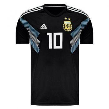 Camisa Adidas Argentina Away 2018 10 Messi