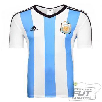 Camisa Adidas Argentina Home 2014 Seguidor