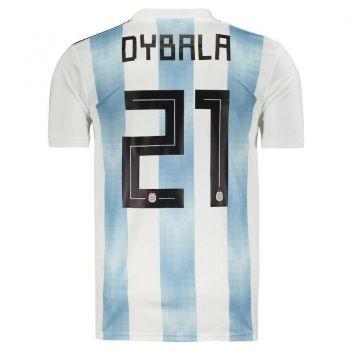 Camisa Adidas Argentina Home 2018 21 Dybala