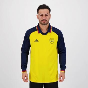 Camisa Adidas Arsenal Icons 2020 Manga Longa