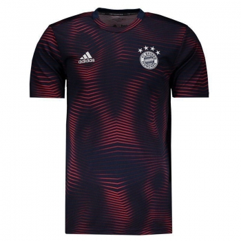 Camisa Adidas Bayern Pré Jogo 2019