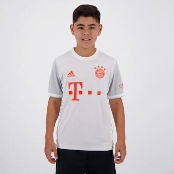 Camisa Adidas Bayern Away 2021 Juvenil