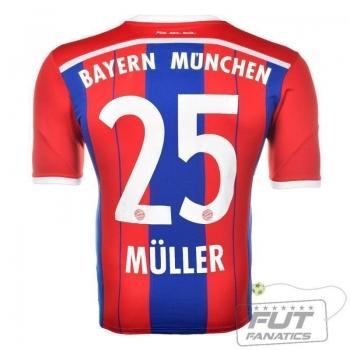 Camisa Adidas Bayern Home 2015 25 Müller