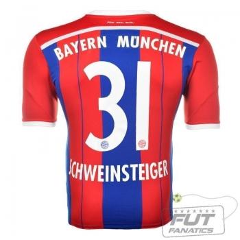 Camisa Adidas Bayern Home 2015 31 Schweinsteiger