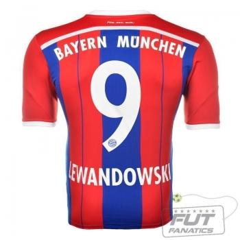Camisa Adidas Bayern Home 2015 9 Lewandowski
