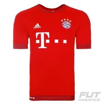 Camisa Adidas Bayern Home 2016 UCL