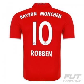 Camisa Adidas Bayern Home 2017 10 Robben