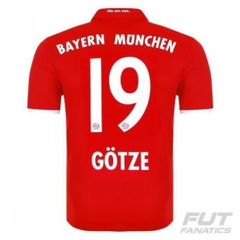 Camisa Adidas Bayern Home 2017 19 Götze