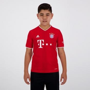 Camisa Adidas Bayern Home 2021 Infantil