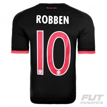 Camisa Adidas Bayern Third 2016 10 Robben