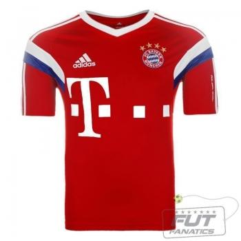Camisa Adidas Bayern Treino I 2015
