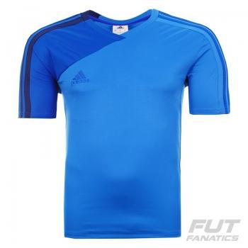 Camisa Adidas Bazzo 15 Azul