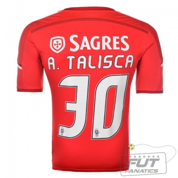 Camisa Adidas Benfica Home 2015 30 A. Talisca
