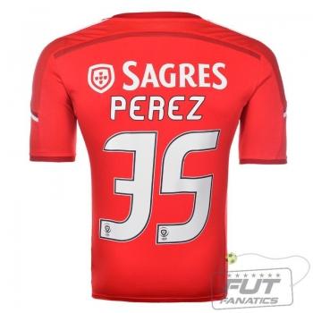 Camisa Adidas Benfica Home 2015 35 Pérez