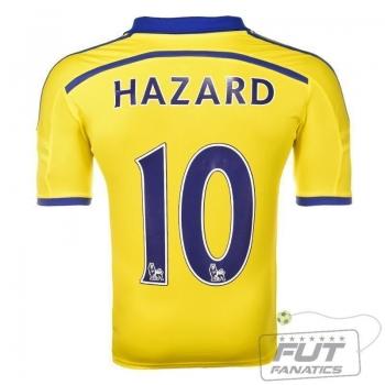 Camisa Adidas Chelsea Away 2015 10 Hazard