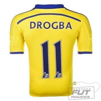 Camisa Adidas Chelsea Away 2015 11 Drogba