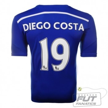 Camisa Adidas Chelsea Home 2015 19 Diego Costa EPL