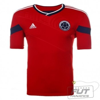 Camisa Adidas Colômbia Away 2014