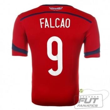 Camisa Adidas Colômbia Away 2014 9 Falcão