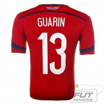 Camisa Adidas Colômbia Away 2014 13 Guarin