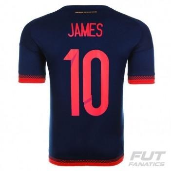 Camisa Adidas Colômbia Away 2015 10 James Copa América