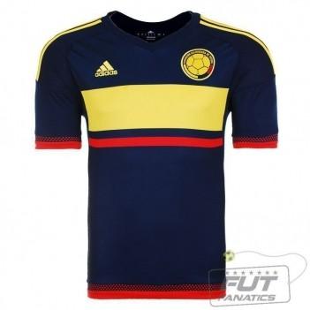 Camisa Adidas Colômbia Away 2015