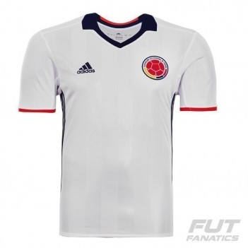 Camisa Adidas Colômbia Home 2016