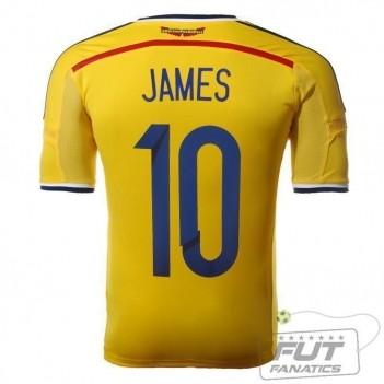 Camisa Adidas Colômbia Home 2014