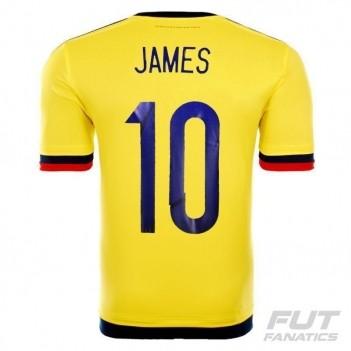 Camisa Adidas Colômbia Home 2015 10 James Copa América