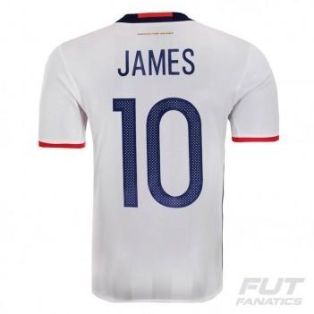 Camisa Adidas Colômbia Home 2016 10 James